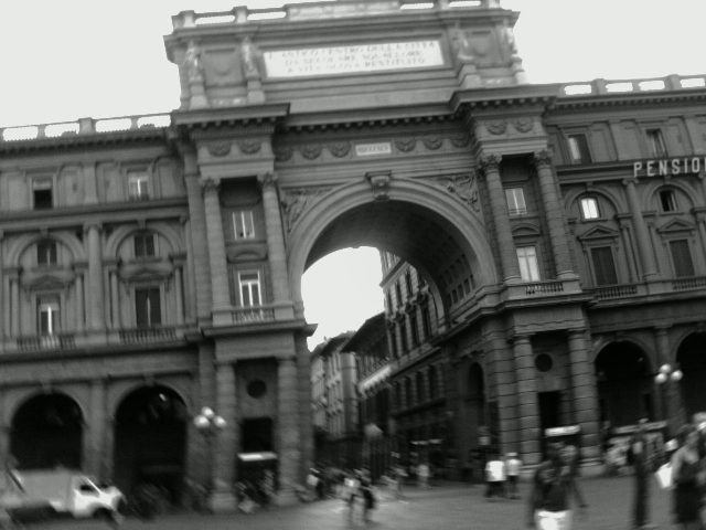 Afternoon in Florence. 2006