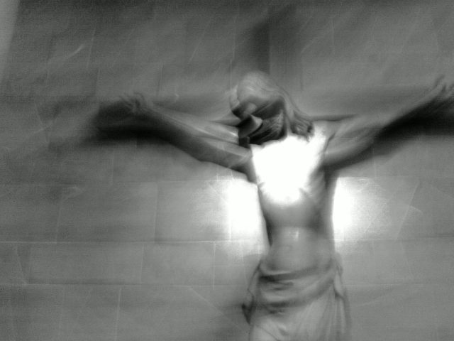 This depiction of Christ. Rome Italy 2006