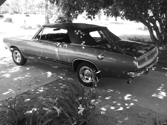 Cherry 1968 Plymouth Barracuda Convertible