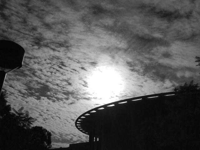 Shapes of Caltech Under A November Sky