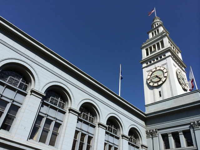 May 28 Four Forty-Five At The Ferry Building San Francisco