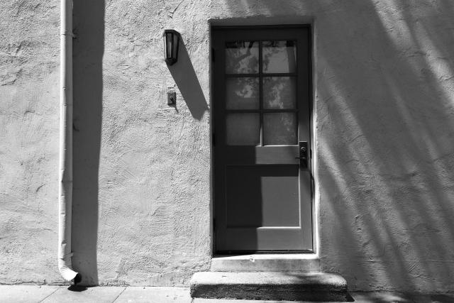 Old Door At Caltech