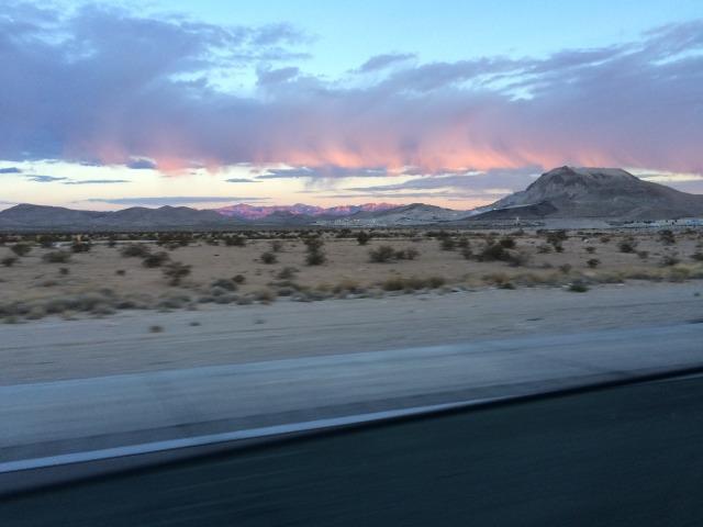 Untitled desert morning outside Las Vegas