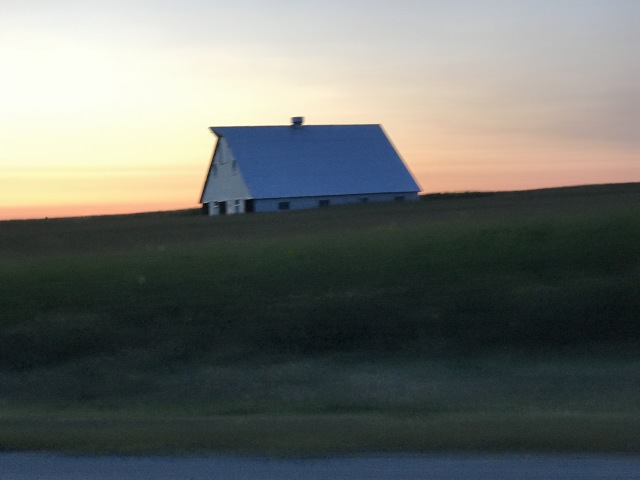 Prairie Sunset in Lincoln Territory